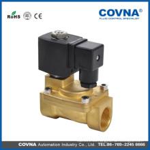 Válvula solenoide de bronce de alta presión con alta calidad