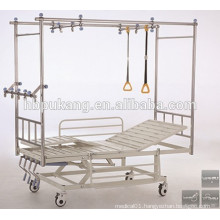 stainless steel orthopedics hospital traction bed