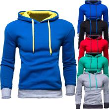 Hoodie de coton de pull molletonné de gymnastique de forme physique d'hommes d'OEM