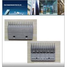 escalator comb plate, escalator step comb plate series for schindler escalator parts