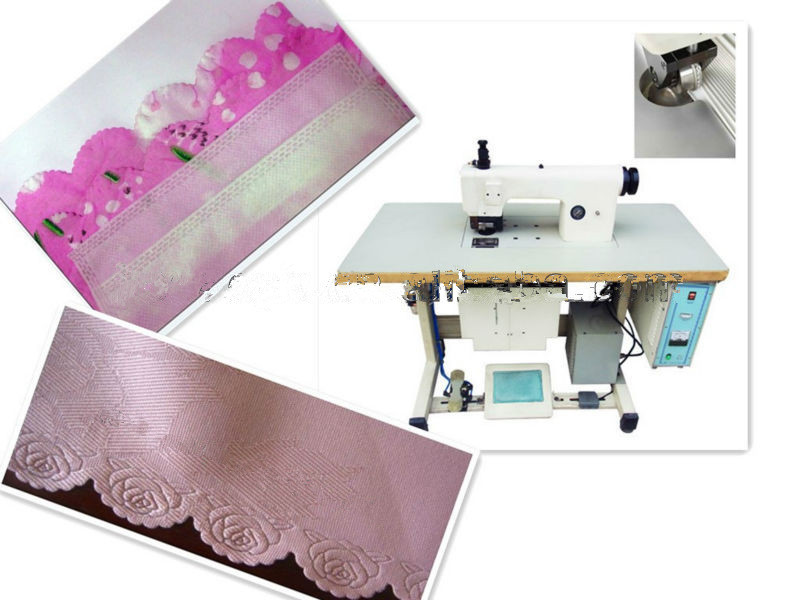 Ultrasonic Sewing Machine for Tablecloth