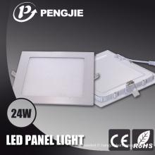 Lumière de panneau de plafond de la puissance élevée LED 24W pour l'éclairage intérieur