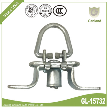 Trailer Lashing Ring Zinc Disepuh Folding Locking Ring