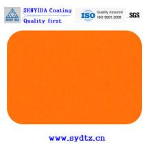 Порошковое покрытие краской оранжевого
