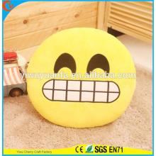 Hot Selling Novedad Diseño Funny Emoji Emotican almohada con la expresión facial