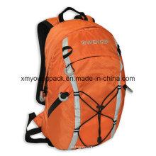 """Moda Orange 420d Ripstop Nylon 15 """"mochila al aire libre"""