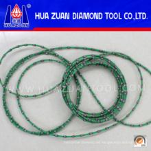 Precio competitivo cuerda de alambre del diamante para el corte de piedra