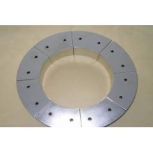 Permanent Arc Segment Neodymium Magnet for Wind Generator with Ni Coating