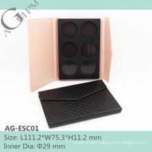 Qute&Special Rectangular Paper Eye Shadow Case AG-ESC01, AGPM Cosmetic Packaging , Custom colors/Logo