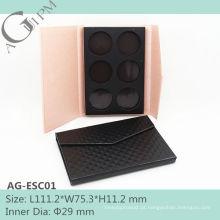 Qute & especial retangular papel sombra de olho caso AG-ESC01, embalagens de cosméticos do AGPM, cores/logotipo personalizado