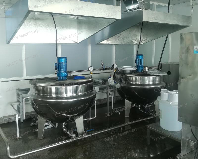 jacketed kettle 1