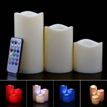 Tear Candles Lights Control remoto
