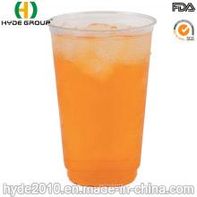 Copo plástico empilhável descartável dos PP para o suco