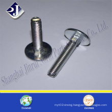 Round Head Bolt with Zinc Plated