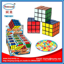 Most Popular Products Plastic Magic Cube Toy with Candy