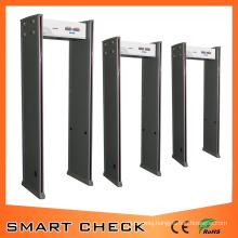 Cheap Metal Detector 6 Zone Walk Through Metal Detector Body Security Detector