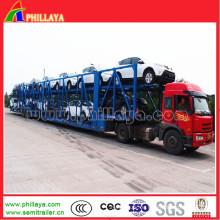 Car Hauler Anhänger / Car Carrier Halb Anhänger für 6-12cars Loading