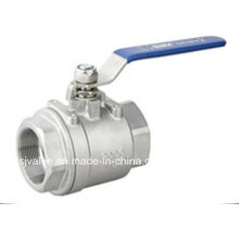 Ss 2PC Ball Valve with CE