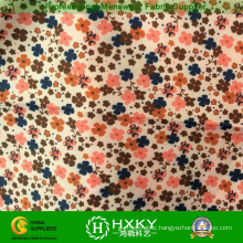 Polyester Flower Printed Fabric for Garments Jackets