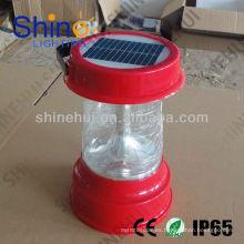 Plástico ABS / transparente PCHigh calidad llevó linterna camping solar llevó linterna de emergencia
