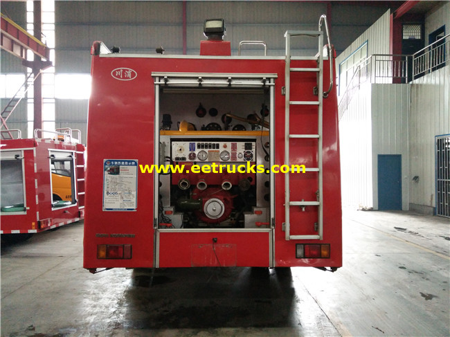 Diecast Fire Fighting Trucks