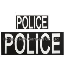 Polizei Patch Set von zwei Haken zurück (HY-PE007)