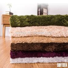 alfombrilla de alfombra de tiro de poliéster haciendo decoración para el hogar