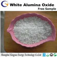 Sandstrahlen 60 Maschenweißer verschmolzener Tonerdesand / weißer Aluminiumoxidsand