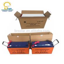 bateria livre acidificada ao chumbo 5-5 anos de bateria acidificada ao chumbo livre 12v 150ah do gel da manutenção