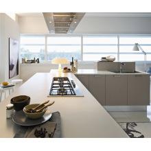 Pole Melamine MDF PVC Kitchen Cabinets