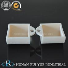 Alta temperatura 99% crisol de alúmina para la sinterización de cerámica