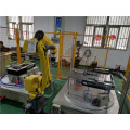Abrasive vacuum cleaner robot