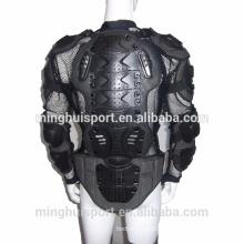 Motocross auto racing protetor jaqueta corpo armadura removível de volta armadura