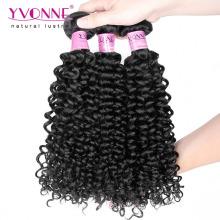 Класс 7А Малайзии вьющиеся волосы Бразильский человеческих волос