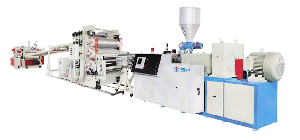 Pvc Free Foam Sheet Machine Line