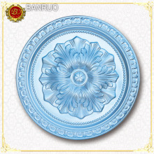 Banruo PU Silver Plating L. panneau bleu pour décoration murale