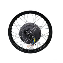 200mm dropout motor electric bike kit 5000w with ebike controller with colorful display