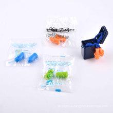 Fashionable design travel kit lightweight sponge earplug for airline