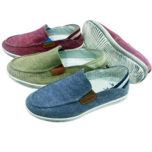 Sapatos Novos Estilo Confortável Men Slip-on Sapatos de Lona Sapatos Casuais