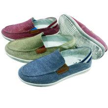 Обувь новый стиль удобный Мужской скольжения на холст обувь Повседневная обувь
