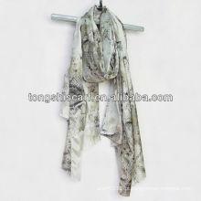 lenço de padrão de moda cobra
