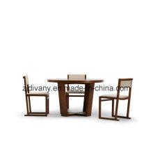 Chaise en bois de salle à manger Style moderne (C-41)