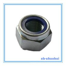 Hex Nut Nylon Lock Nut-DIN985