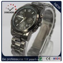 Reloj resistente al agua para mujer de acero inoxidable de cuarzo (DC-317)