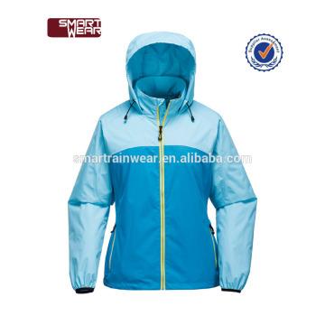 Venda quente manufacutre pu jaqueta de chuva à prova d 'água por atacado