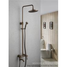 Antiker runder Spray-Duschkopf-Badezimmer-Bad-Hahn