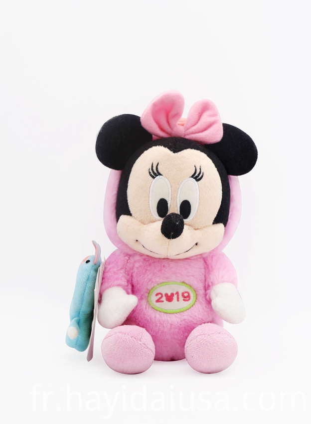 Plush Mickey and Minnie Toy