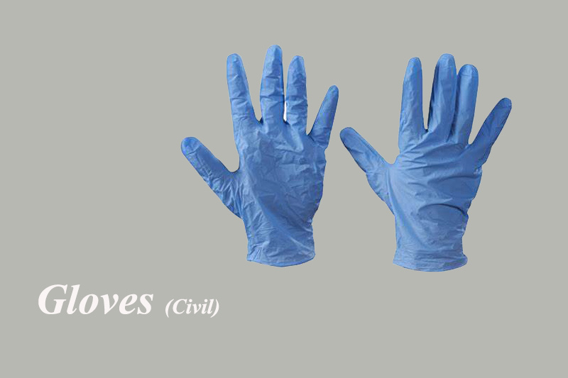 Gloves-blue