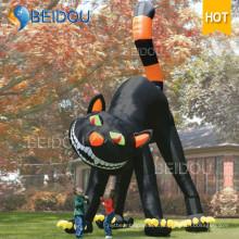Trajes de Halloween Decoraciones inflables Gato negro inflable de Halloween
