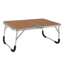 Fábrica fornecer diretamente baixo preço cama dobrável mesa de estudo pequena mesa de piquenique dobrável de alumínio portátil